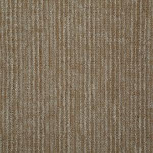Graphix French Peach Loop Commercial 24 in. x 24 in. Glue Down Carpet Tile (12-tile/case)