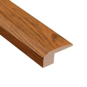 Jatoba Natural Dyna 1/2 in. Thick x 2-1/8 in. Wide x 78 in. Length Carpet Reducer Molding