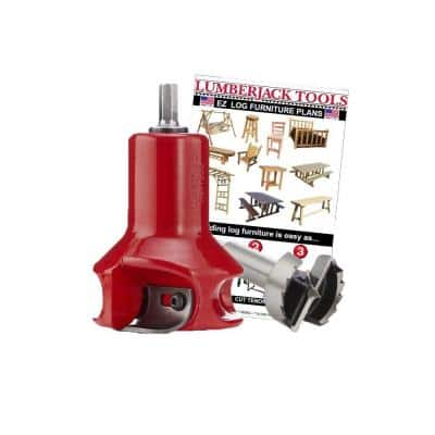 1-1/2 in. Home Series Beginners Kit Log Furniture Building Tools