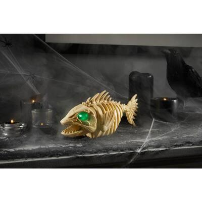10 in. Animated LED Skeleton Piranha