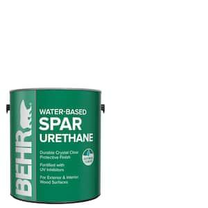 1 gal. Semi-Gloss Clear Water-Based Interior/Exterior Spar Urethane Wood Sealer