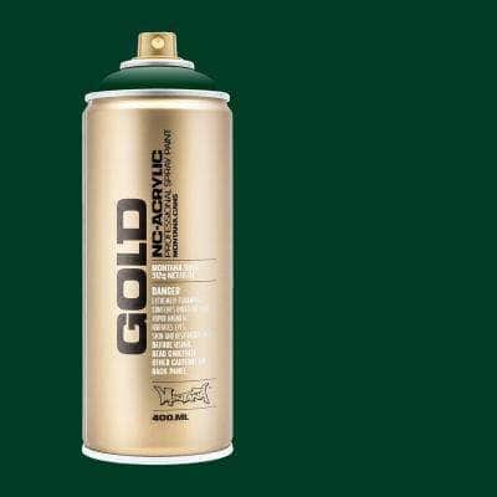 11 oz. GOLD Spray Paint, Jungle Green