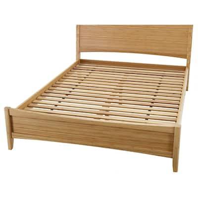 Willow Tan Caramelized King Platform Bed