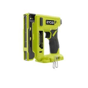 18-Volt ONE+ Cordless Compression Drive 3/8 in. Crown Stapler (Tool Only)