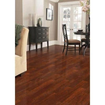 Chicory Root Mahogany 3/8 in. Thick x 7-1/2 in. Wide x Varying Length Click Lock Hardwood Flooring (30.92 sq. ft. /case)