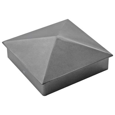 6 in. x 6 in. Aluminum Post Cap