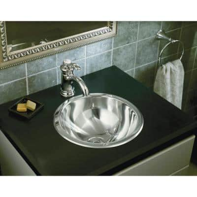 Fairfax Single Hole Single Handle Mid-Arc Bathroom Vessel Sink Faucet in Polished Chrome