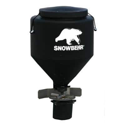 250 lbs. Hitch Mounted Salt Spreader with Wireless Remote for 2 in. Receivers