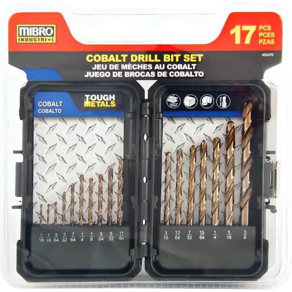 6PCS 3-8mm Cobalt Drill Bit Set M35 HSS Jobber Length Twist Drill Bits Tools