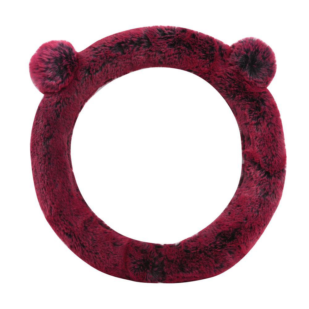 Fluffy Koala Bear Steering Wheel Cover