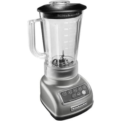 56 oz. 5-Speed Silver Blender
