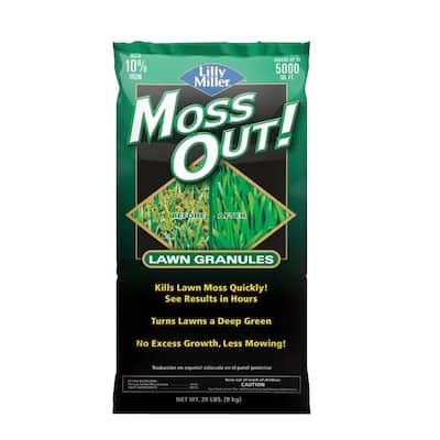 20 lb. Moss Out! Moss Killer Lawn Granules