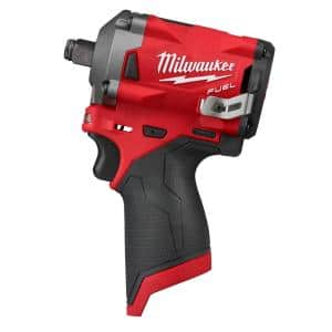 M12 FUEL 12-Volt Lithium-Ion Brushless Cordless Stubby 1/2 in. Impact Wrench (Tool-Only)