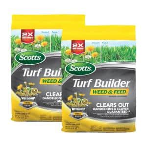 Turf Builder 15 lb. 5,000 sq. ft. Weed and Feed Lawn Fertilizer (2-Pack)