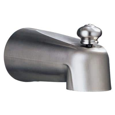 Leland 5-1/2 in. Tub Spout in Stainless-Steel