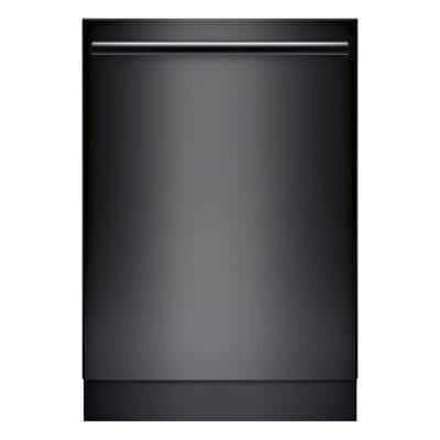 100 Series 24 in. Black Top Control Tall Tub Dishwasher with Hybrid Stainless Steel Tub and 3rd Rack, 48dBA