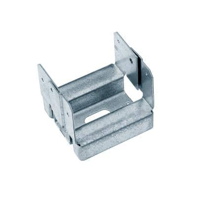 ABA ZMAX Galvanized Adjustable Standoff Post Base for 4x4 Nominal Lumber