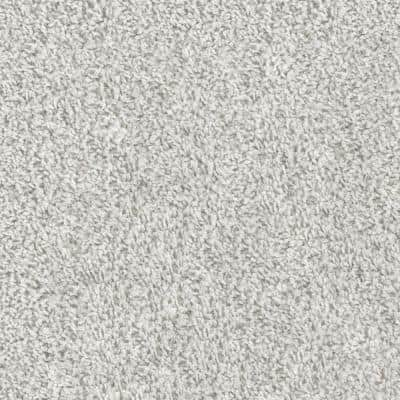 Scandi Chic - Color Snow Kissed Residential 9 in. x 36 in. Peel and Stick Carpet Tile (6 Tiles / Case)
