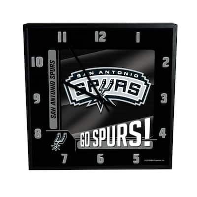 NBA -Go Team, 12 in. Sq. Clock -Spurs