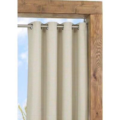 Oatmeal Grommet Blackout Curtain - 52 in. W x 108 in. L