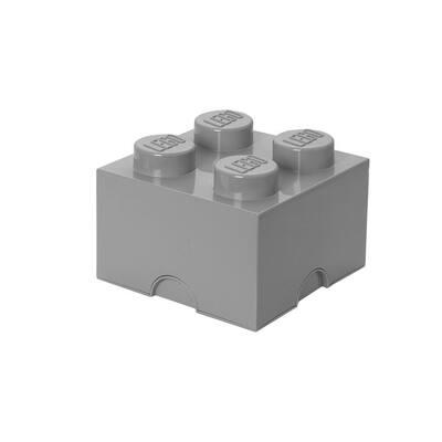 Medium Stone Grey Stackable Box