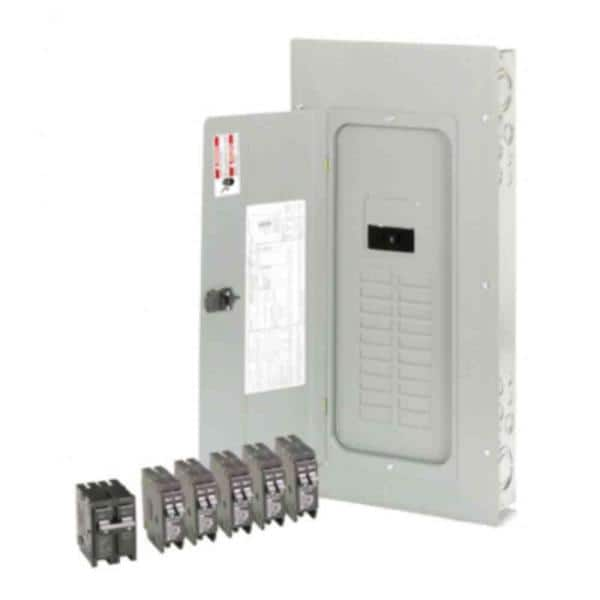Eaton Br 200 Amp 20 Space 40 Circuit Outdoor Main Breaker Loadcenter With Cover Value Pack 5 Br120 1 Br230 Br2040b200rv The Home Depot