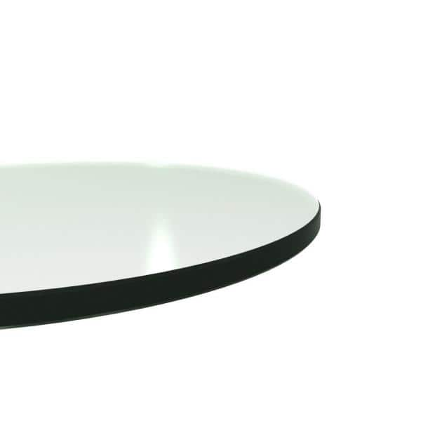 Clear Round Glass Table Top, Round Glass Table Top 42
