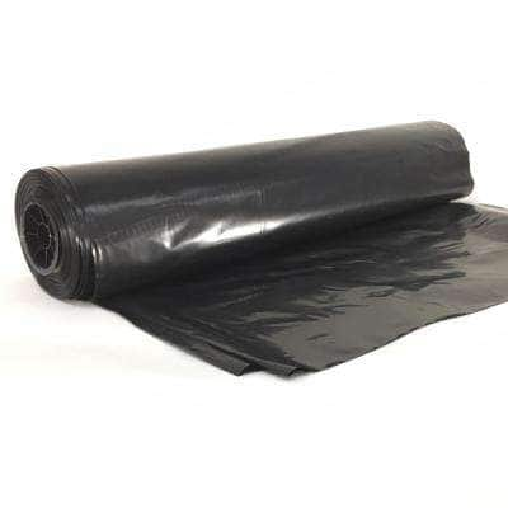 12 ft. x 100 ft. 4-mil Black Fire Retardant Poly Construction Film