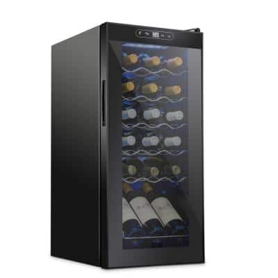 13.6 in. 18 Bottle Compressor Freestanding Wine and Beverage Cooler