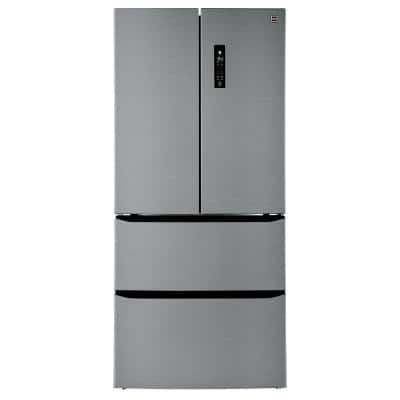 15 cu. ft. 2-Door French Door Refrigerator with Bottom Freezer Drawers in Stainless Look
