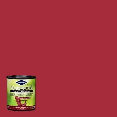 1 qt. Colonial Red Outdoor Furniture Exterior Paint (2 Pack)