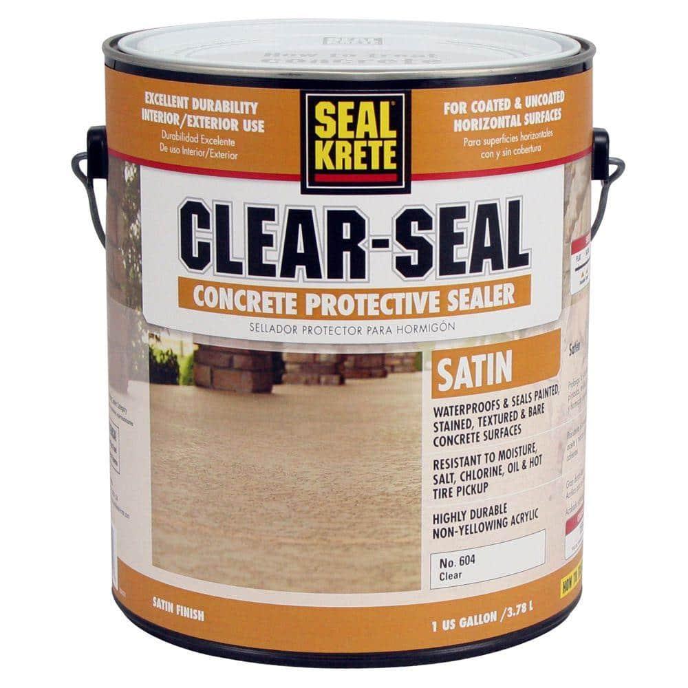 Seal Krete 1 Gal Satin Clear