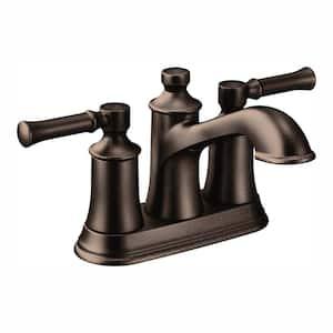 Dartmoor 4 in. Centerset 2-Handle Bathroom Faucet in Oil Rubbed Bronze