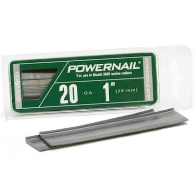 1 in. 20-Gauge Hardwood Flooring Cleat (1000-Pack)