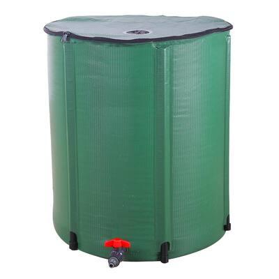 66 Gal. Green Rainwater Barrel