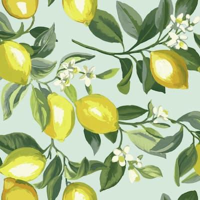 Lemon Zest Peel and Stick Wallpaper (Covers 28.18 sq. ft.)