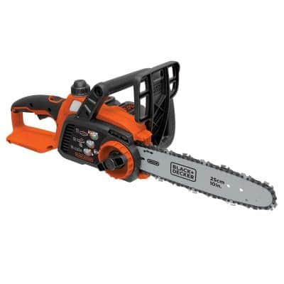 10 in. 20V MAX Lithium-Ion Cordless Chainsaw with (1) 2.0Ah Battery and Charger Included