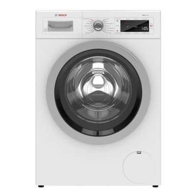 500 Series 24 in. 2.2 cu. ft. 240-Volt Home Connect Stackable White Front Load Compact Washing Machine, ENERGY STAR