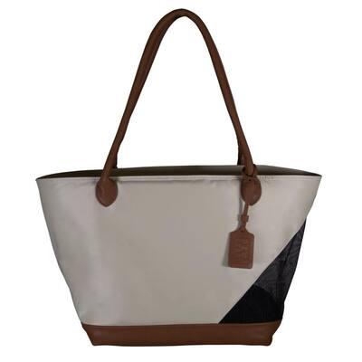 11.25 in. x 8.5 in. x 10 in. Sand Tote Bag