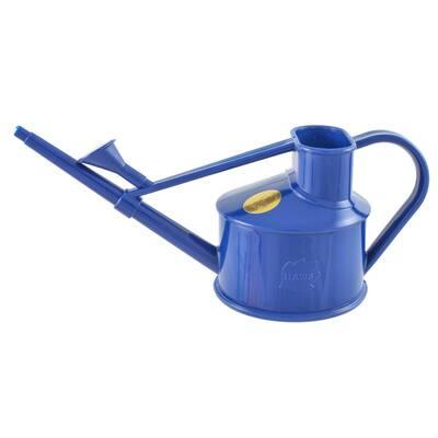 English Garden Handy 1-Pint Dark Blue Plastic Watering Can