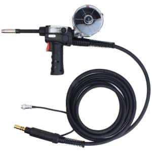 15 ft. 180 Amp SPG15180 Spool Gun Use for AMICO MIG-140GS/MIG-160GS and MIG-160/MIG-180, Pro. Aluminum MIG Welding