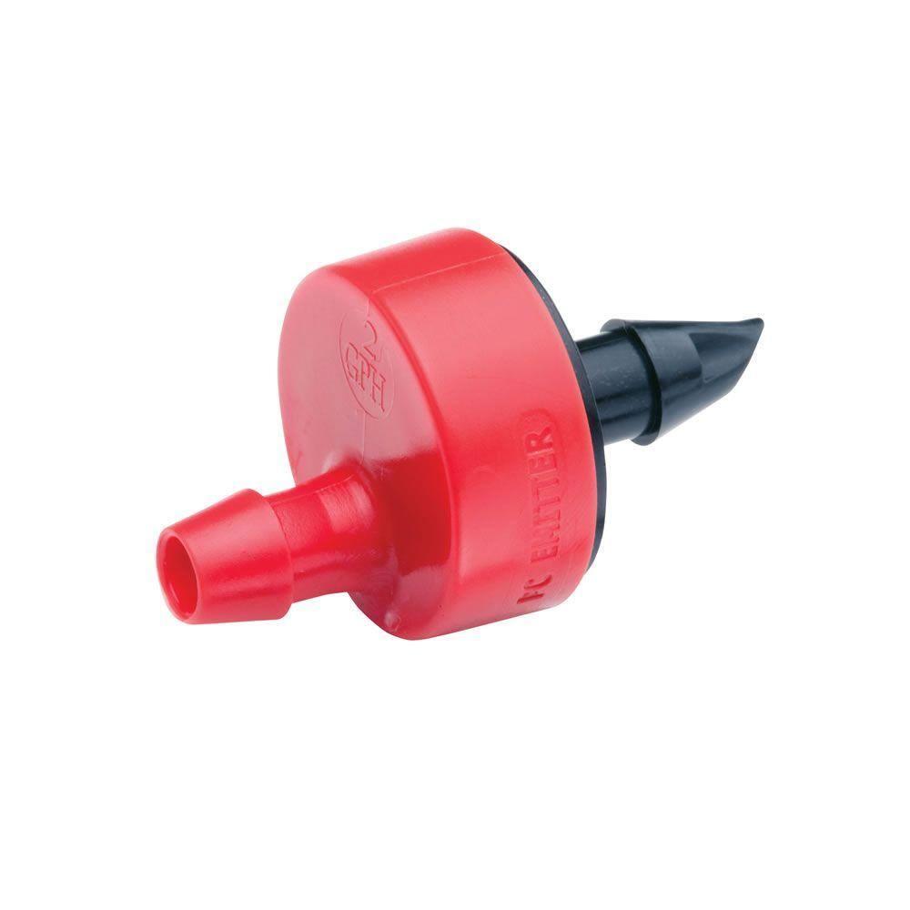 Pressure Compensating Dripper 8GPH 30L//H Emitter Lawn Irrigation Green 20pcs