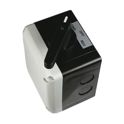 Motor Reversing Drum Switch Momentary for 5 HP to 10 HP Motors