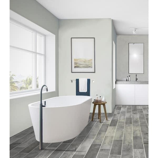 Florida Tile Home Collection Wind River, Porcelain Bathroom Wall Tiles Home Depot