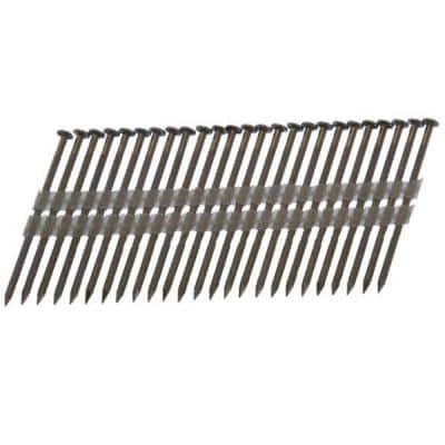 Framing 3 in. x 0.120 in. 20° to 22° Plastic Strip 304 Stainless Steel Nail (1,000-Piece)