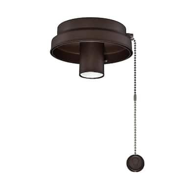 Oil-Rubbed Bronze Ceiling Fan Low Profile LED Light Kit