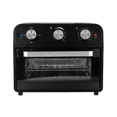 22 Qt. Black Air Fryer Oven