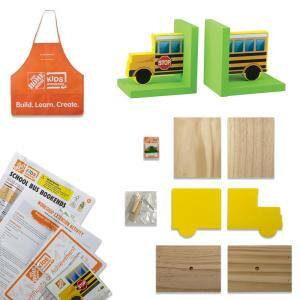 School Bus Bookends Kit Pack