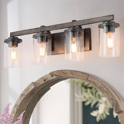 Industrial Vanity Lighting, Lighting Fixtures For Bathroom