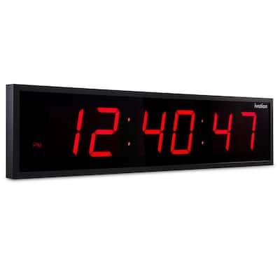 Huge Digital LED Clock - Red (36 in.)